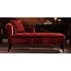 Patterson Chenille Chaise Lounge Chair - Maroon