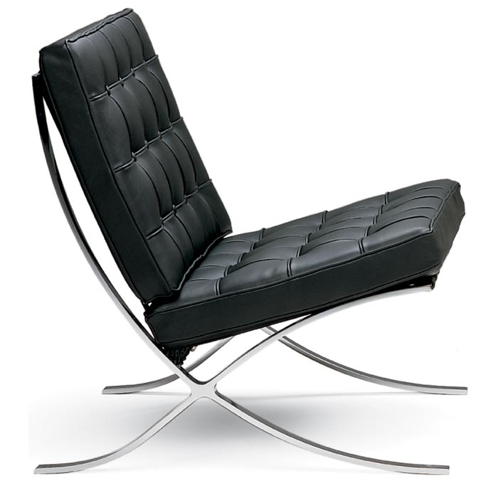 Mies Van Der Rohe Pavilion Chair Made In Italy Dcg Stores