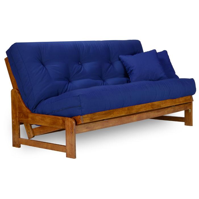 Arden Wood Futon Frame Set Armless U S A Mattress Nf Ardn