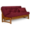 Arden Wood Futon Frame Set - Armless, U.S.A. Futon Mattress - NF-ARDN-SET#
