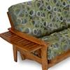 eastridge wood futon frame set tray arm designer cover nf erdg
