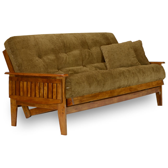 Designer Futons: Eastridge Wood Futon Frame Set