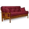 stanford wood futon frame set heritage usa futon mattress nf sfrd - Wooden Futon Frame