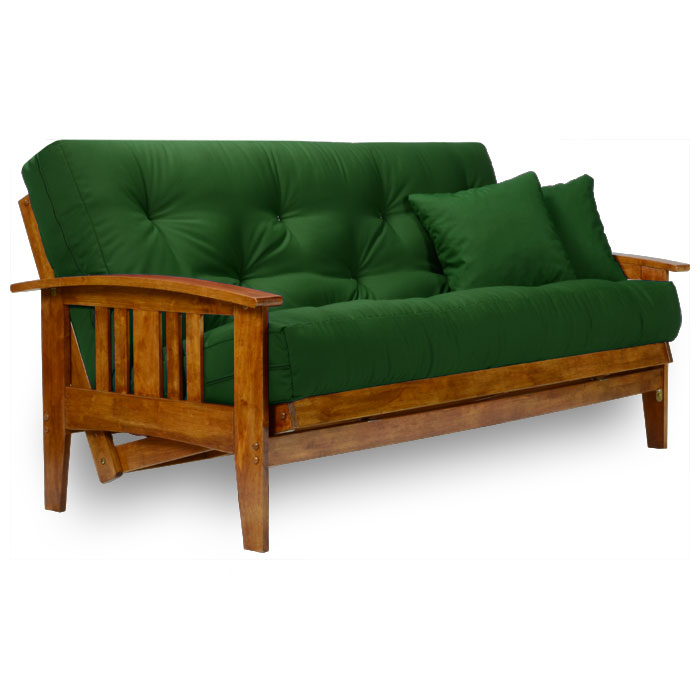 westfield wood futon frame set   heritage u s a  futon mattress   nf wfld      westfield wood futon frame set   heritage u s a  futon mattress      rh   dcgstores
