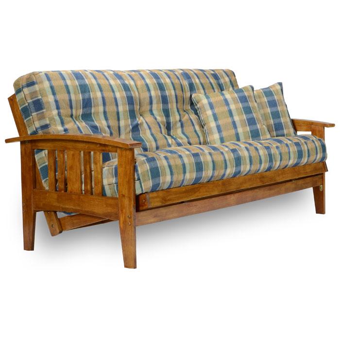 Designer Futons: Westfield Wood Futon Frame Set