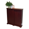 Sliding Door Multimedia Stand in Cherry
