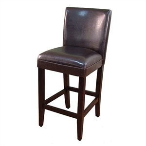 Deluxe Brown Classic Barstool