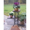 3 Tier Plant Stand w/ Slate Top - 4DC-601608