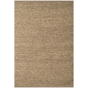 Atlas Gray Rug - Braided, Hand Woven