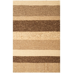 Atlas Stripe Rug - Braided, Hand Woven