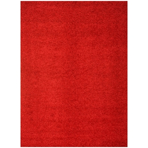 Domino Shag Rug - Red