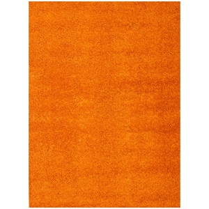 Domino Shag Rug - Orange
