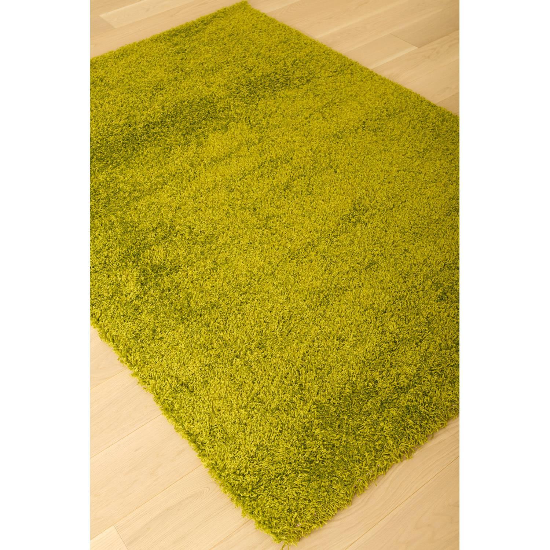 Abacasa Domino Teal Area Rug Reviews: Domino Shag Rug - Apple Green