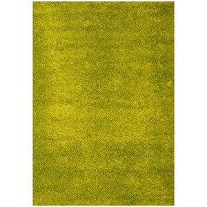Domino Shag Rug - Apple Green