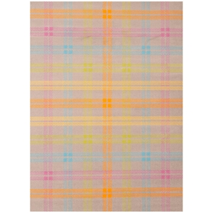 Jax Plaid Kids Rug - Light Gray