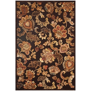 Napa Fulton Rug - Chocolate