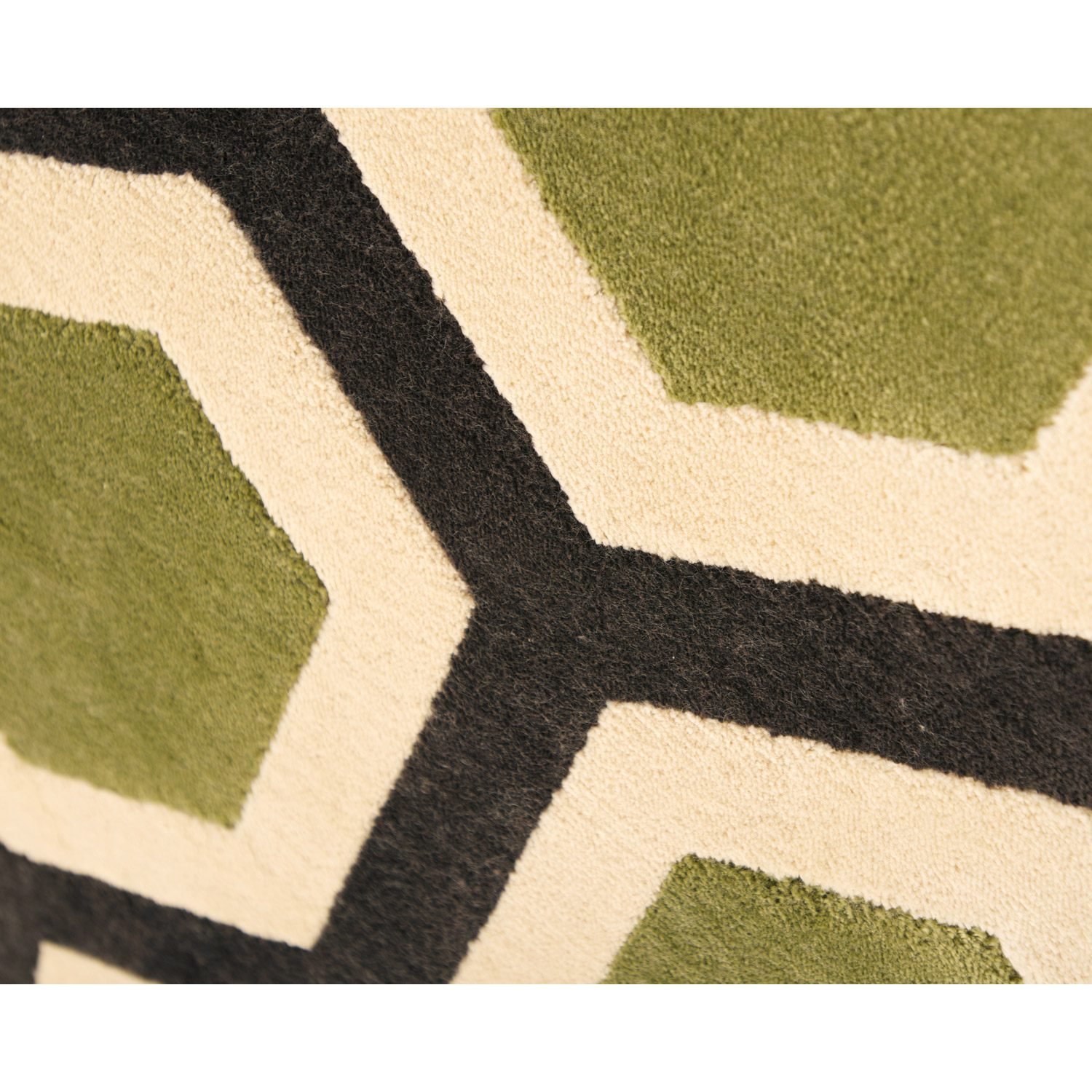 Sonoma Honeycomb Rug - Apple Green - ABA-7048-5x8