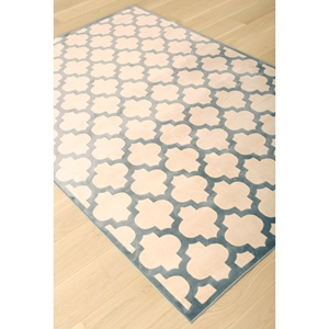 Sonoma Trellis Rug - Light Blue