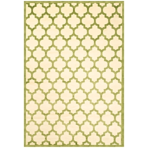 Sonoma Trellis Rug - Apple Green
