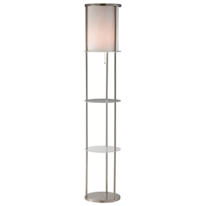 Holden Round Shelf Floor Lamp