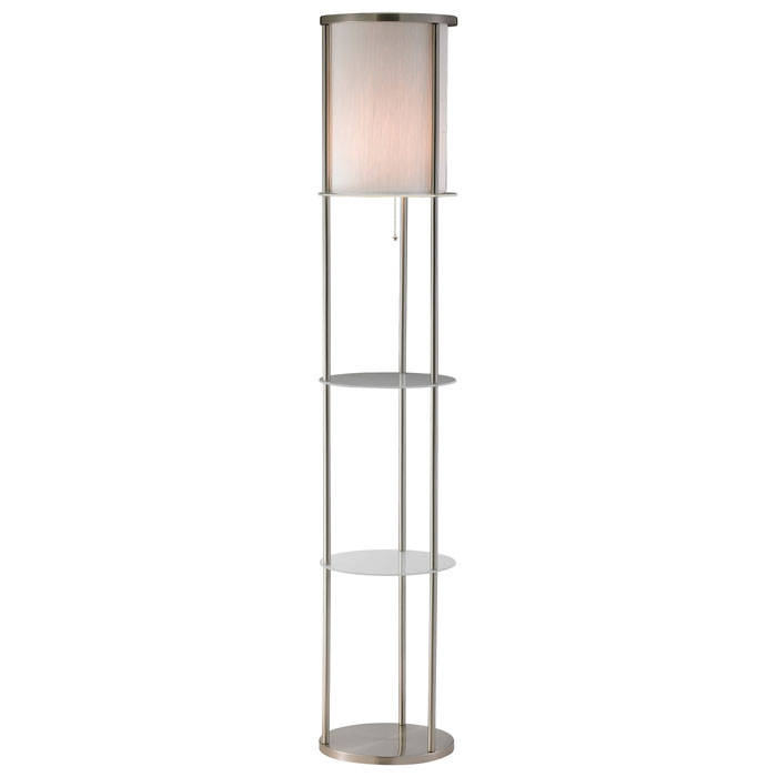 Holden Round Shelf Floor Lamp - ADE-3666-22