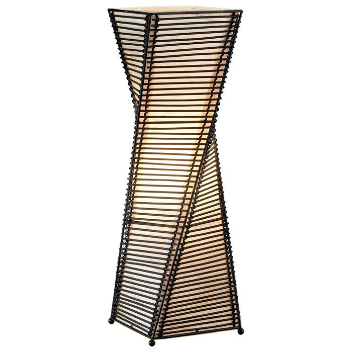 Stix Twisted Table Lantern - ADE-4045-01
