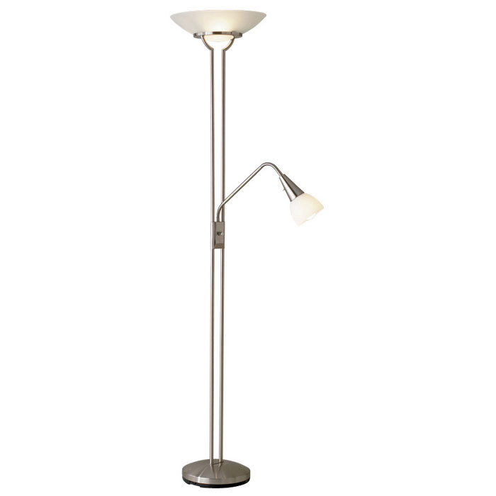 Cupola combo floor lamp with gooseneck arm dcg stores for Home floor 5 arm gooseneck lamp
