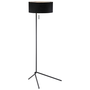 Twixt Floor Lamp with Black Shade