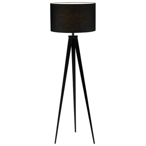 Director Black Floor Lamp
