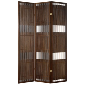 Ashville Folding Screen in Walnut