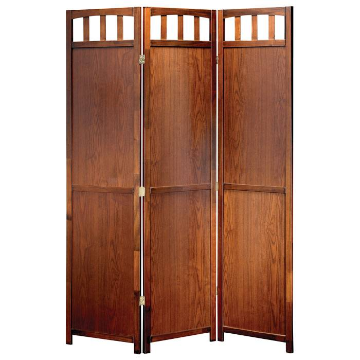 Churchill Folding Screen in Walnut