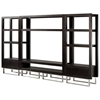 Palisada Display Unit - Espresso on Ash, Polished Chrome Legs - ACD-30803-32
