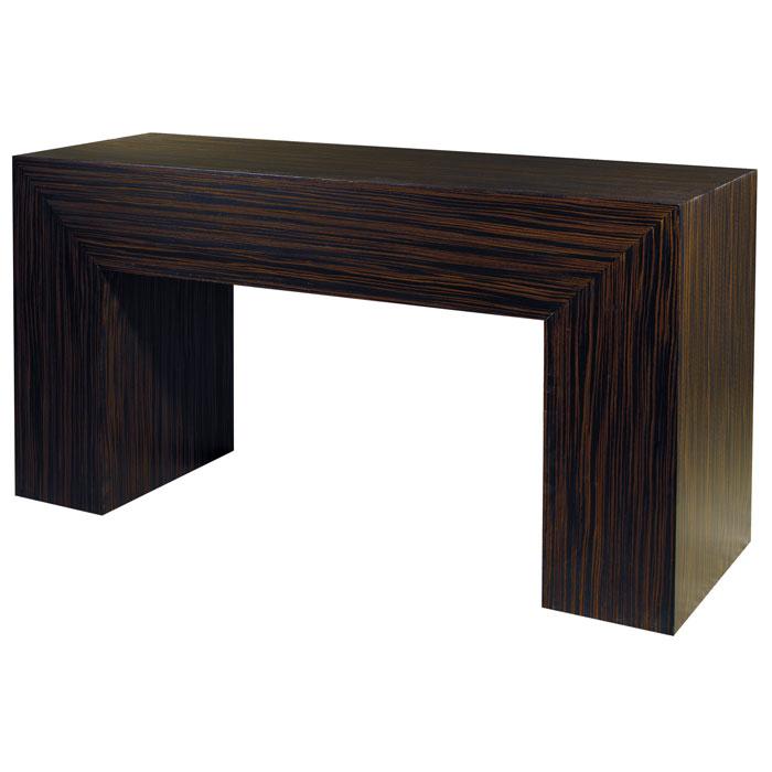 Ebony console table