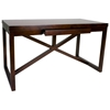Snowmass Writing Desk - Espresso on Birch, 1 Drawer - ACD-3404-50