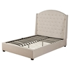 Ava Upholstered Bed - Soap, Platform, Tufted - ALP-1085-BED