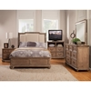 Melbourne French Truffle Bed - Nailheads, Upholstered Headboard - ALP-1200-BED