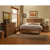 St James Bedroom Set - Salvaged Brown - ALP-1478-BED-SET
