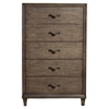 Charleston 5-Drawer Chest - Antique Gray - ALP-1500-05