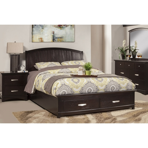 madison bedroom set dark espresso dcg stores