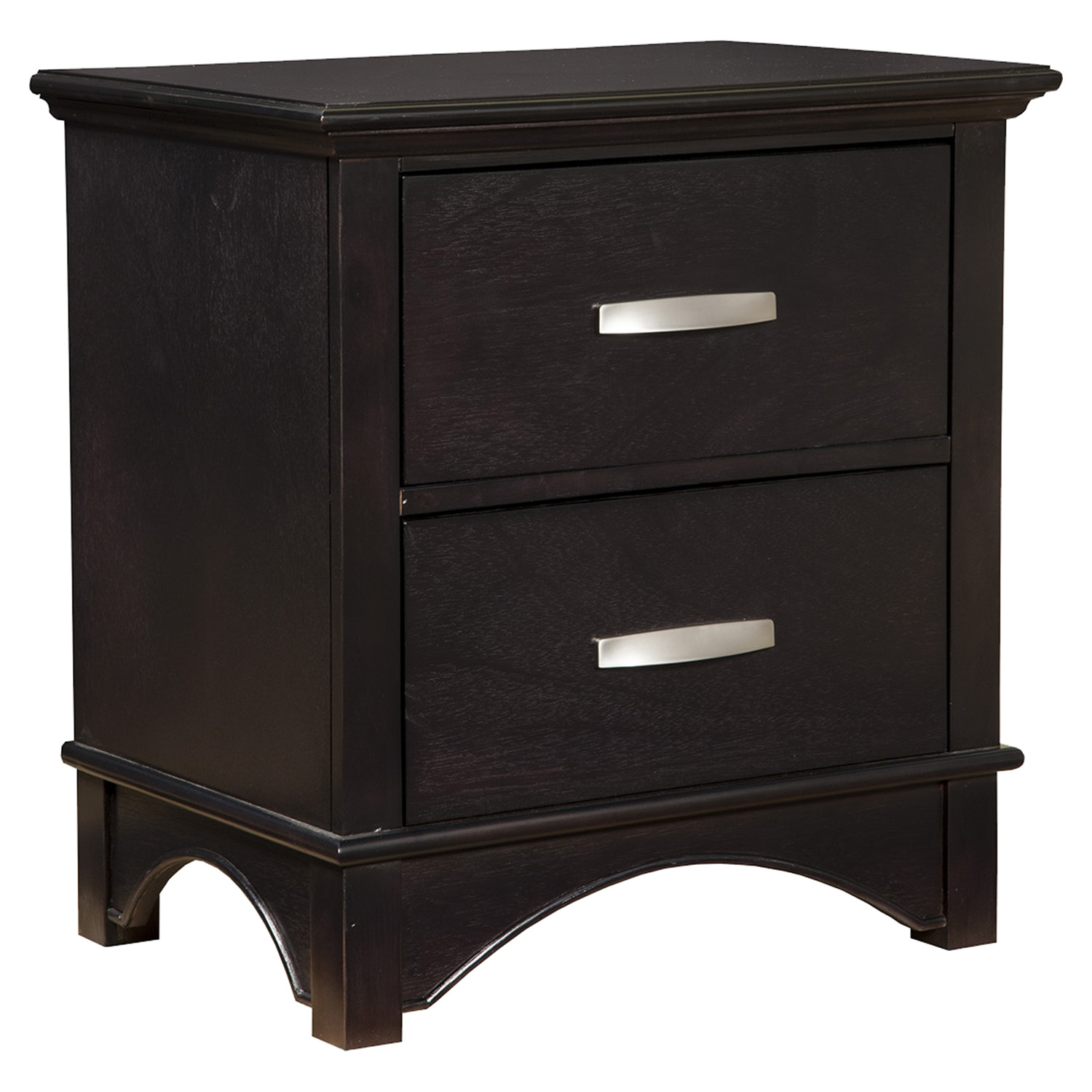 Madison 2 Drawer Nightstand Dark Espresso Dcg Stores