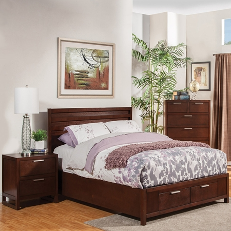 Urban Bedroom Set Merlot Dcg Stores