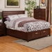 Urban Storage Bed - Merlot - ALP-1888-BED
