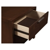 Urban 2-Drawer Nightstand -Merlot - ALP-1888-02