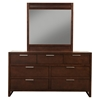 Urban Bedroom Set - Merlot - ALP-1888-BED-SET