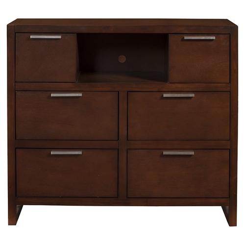 urban 6 drawer tv media chest merlot dcg stores. Black Bedroom Furniture Sets. Home Design Ideas