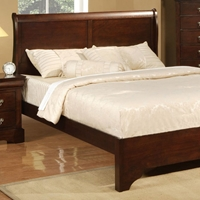 West Haven Bed in Cappuccino Finish
