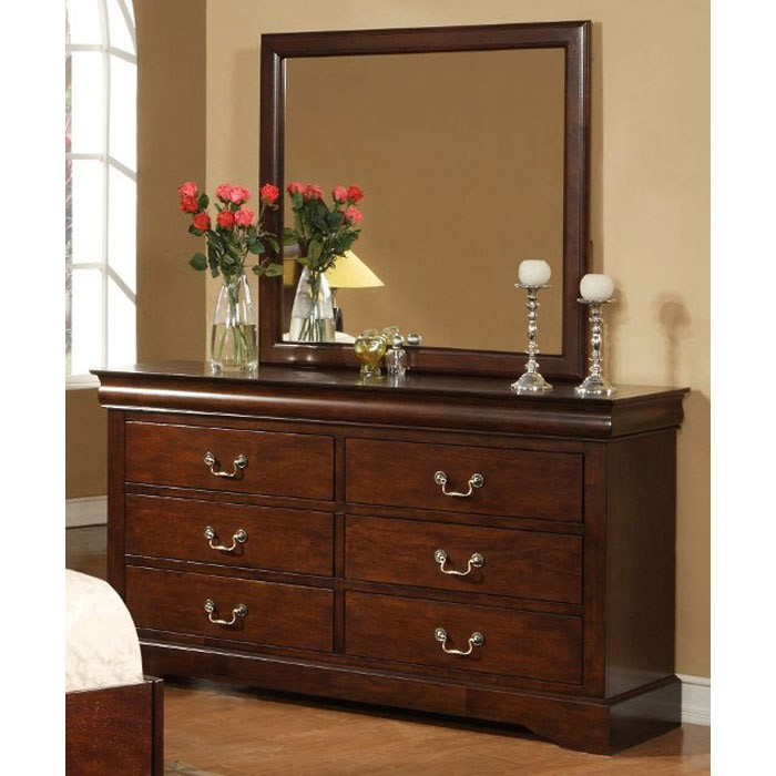 West Haven Six Drawer Dresser in Cappuccino - ALP-2201