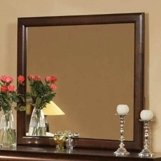 West Haven Mirror in Cappuccino - ALP-2203