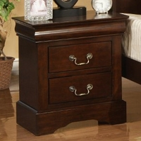 West Haven Nightstand in Cappuccino