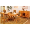 Santa Fe Caramel Oak Buffet Table - ALP-317-2